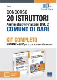concorso 20 istruttori amministrativi finanziari (cat. c) comune di bari