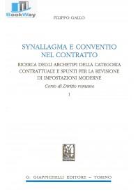 synallagma e conventio nel contratto