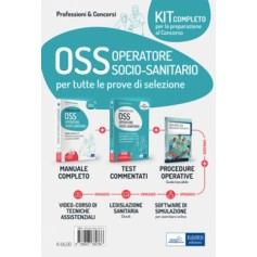 Concorsi OSS Operatore Socio-Sanitario Kit