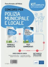 Concorsi Polizia Municipale e Locale Kit di Sarcone