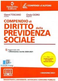 compendio di diritto della previdenza sociale  2021