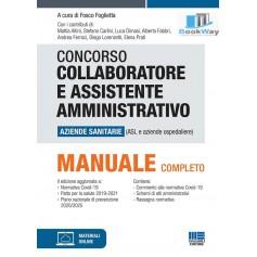 concorso collaboratore e assistente amministrativo  asl manuale completo