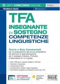 TFA Insegnante di Sostegno Competenze Linguistiche Teoria e Quiz Commentati