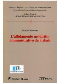 affidamento nel diritto amministrativo dei tributi (l')