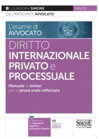 Esame di Avvocato Diritto Internazionale Privato e Processuale Quaderni