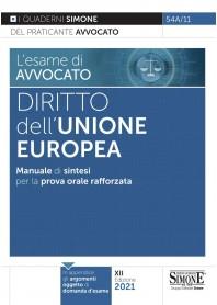 Esame di Avvocato Diritto dell'Unione Europea Quaderni