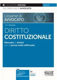 Esame di Avvocato Diritto Costituzionale Quaderni