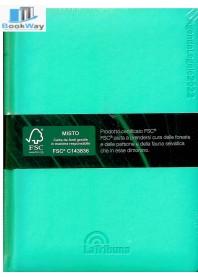 agenda legale pocket 2022 - verde acqua