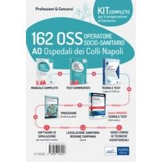 Concorso 162 OSS AO Ospedali dei Colli Napoli Kit