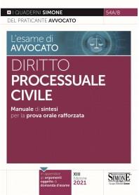 Esame di Avvocato Diritto Processuale Civile Quaderni