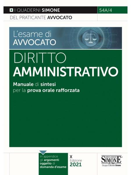 Esame di Avvocato Diritto Amministrativo Quaderni