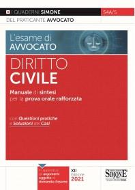 Esame di Avvocato Diritto Civile Quaderni