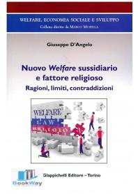 nuovo welfare sussidiario e fattore religioso