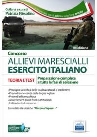 Concorso Allievi Marescialli Esercito Italiano di Nissolino