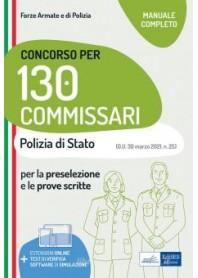 Concorso 130 Commissari Polizia di Stato 2021