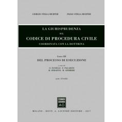 La Giurisprudenza sul Codice di Procedura Civile Libro III del Processo di Esecuzione Aggiornamento 2014-2017 di Stella Richter