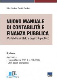nuovo manuale di contabilitÀ e finanza pubblica