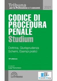 codice di procedura penale 2021  studium