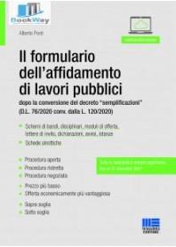 nuovo formulario dell'affidamento di lavori pubblici (il)
