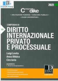 compendio di diritto internazionale privato e processuale 2021