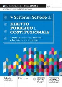 Schemi & Schede di Diritto Costituzionale