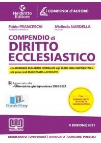 compendio di diritto ecclesiastico 2021