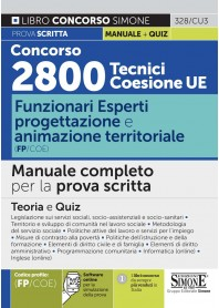 Concorso 2800 Tecnici Coesione UE Funzionari Esperti Progettazione e Animazione Territoriale (FP/COE) Manuale
