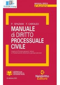 manuale di diritto processuale civile 2021
