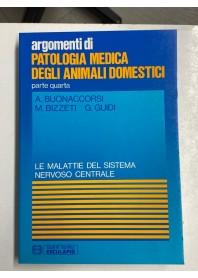 Patologia Medica degli Animali Domestici Parte Quarta di Buonaccorsi, Bizzeti, Guidi