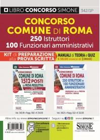 Concorso Comune Roma 250 Istruttori 100 Funzionari Amministrativi Kit