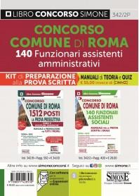 Concorso Comune Roma 140 Funzionari Assistenti Sociali Kit