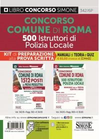 Concorso Comune Roma 500 Istruttori di Polizia Locale Kit