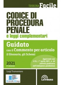 codice di procedura penale e leggi complementari 2021