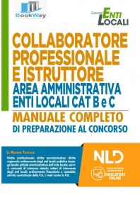 collaboratore professionale e istruttore -