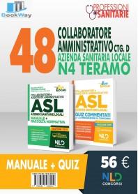 concorso 48 collaboratori amministrativi ctg d azienda sanitaria locale n4 teramo