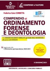 compendio di ordinamento forense e deontologia