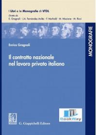 contratto nazionale nel lavoro privato italiano (il)