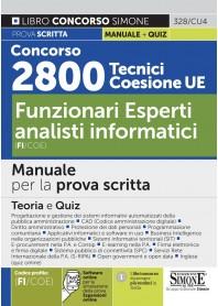 Concorso 2800 Tecnici Coesione UE