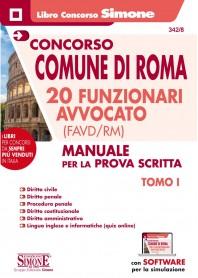 Concorso Comune di Roma 20 Funzionari Avvocato (FAVD/RM) 2 Tomi