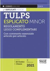 TULPS  Esplicato Minor di Del Giudice, Chiaese
