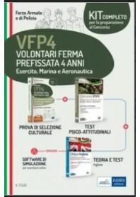 Concorso VFP4 Esercito Marina Aeronautica Kit di Nissolino