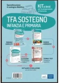 Concorsi TFA Sostegno Didattico nelle Scuole Infanzia e Primaria Kit Base di Crisafulli, Capobianco, De Trizio
