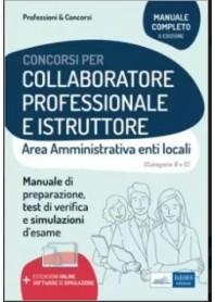 Collaboratore Professionale e Istruttore Area Amministrativa degli Enti Locali
