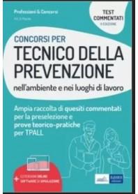 Concorsi per Tecnico della Prevenzione nell'Ambiente e nei Luoghi di Lavoro Test