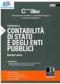 compendio di contabilitÀ di stato e degli enti pubblici 2021