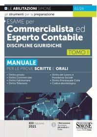 Manuale per Commercialista ed Esperto Contabile Discipline Giuridiche Tomo I