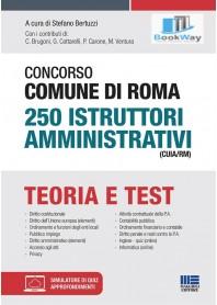 concorso comune di roma 250 istruttori amministrativo