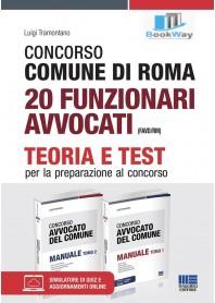 concorso comune di roma 20 funzionari avvocati (favdrm).
