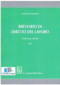breviario di diritto del  lavoro 2021