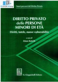 diritto privato delle persone minori di etÀ